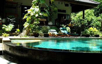 The pool at Villa Tuikad, Bali